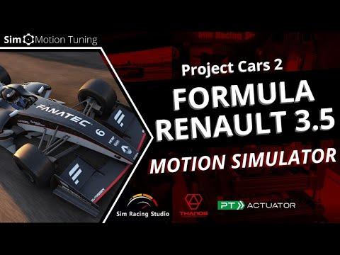 Project Cars 2: Formula Renault 3.5 / Sim Racing Studio / PT Actuator 6DOF Motion Platform