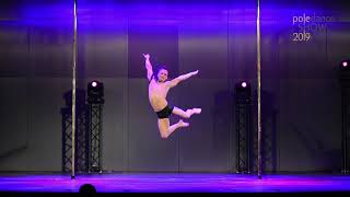 Patryk Rybarski - III place Men - Pole Dance Show 2019