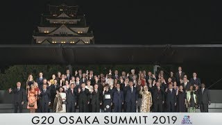 G20首脳らが夕食会  文化と美食でおもてなし thumbnail