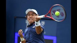 Yoshihito Nishioka vs. Marcos Giron | US Open 2019 R1 Highlights