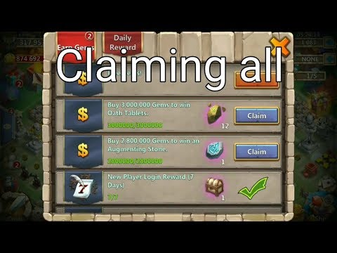 Claiming All New