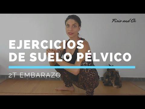 Ejercicio Suelo Pélvico en el Embarazo. Segundo trimestre.