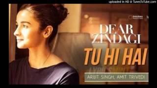 Tu Hi Hai Full Song - Dear Zindagi | SRK, Alia | Arijit Singh