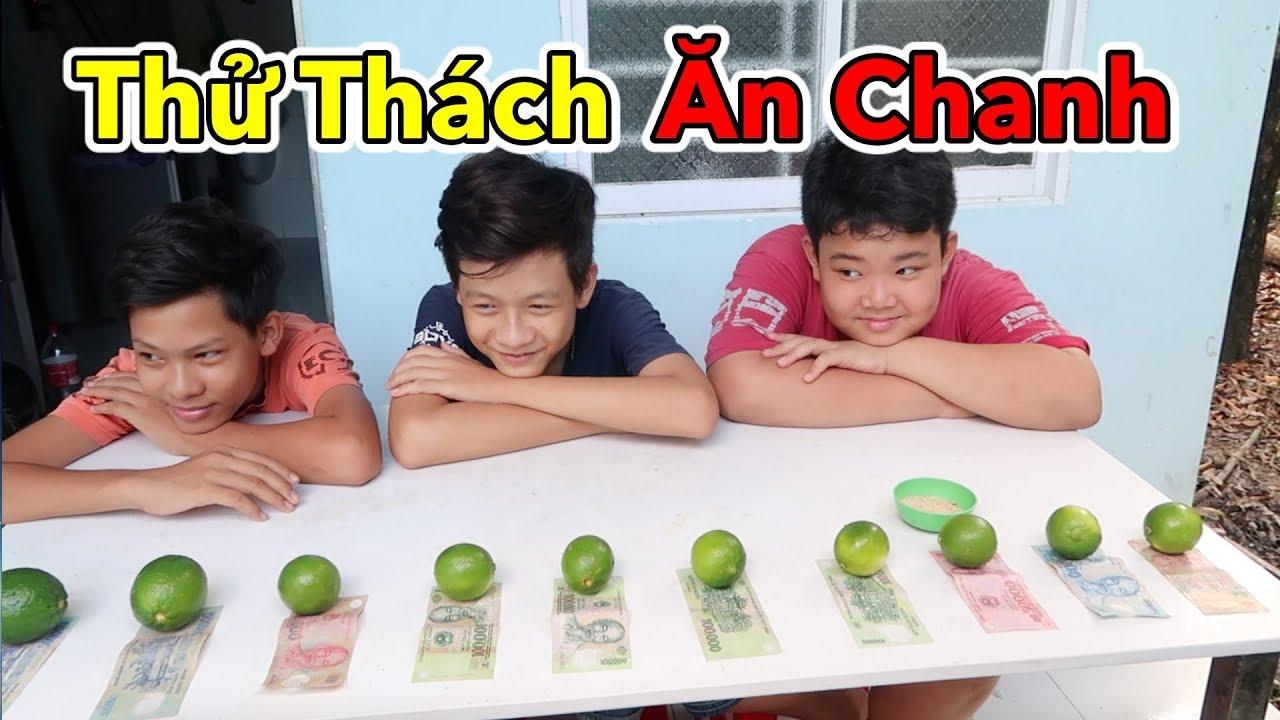 Lâm Vlog - Thử Thách Ăn Hết 10 Trái Chanh Siêu Chua | THE LEMON CHALLENGE