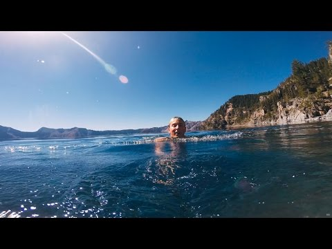 Swimming In Crater Lake