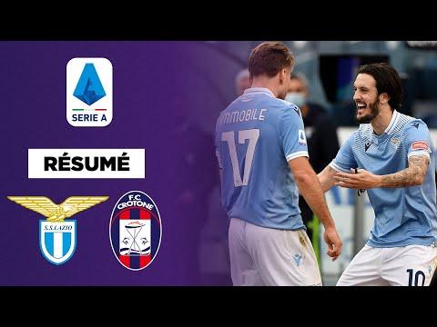 🇮🇹 Résumé : La Lazio évite le piège de Crotone de justesse