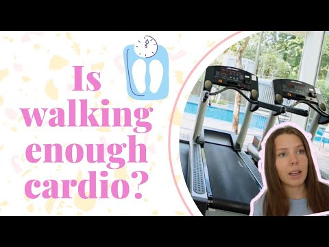 How many calories does walking burn? Is walking cardio?