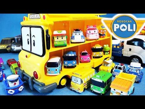 Робокар Поли - Правила дорожного движения - Ремни безопасности в автобусе (мультфильм 24)
