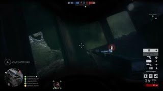 Bf1 - falling back ninja-style
