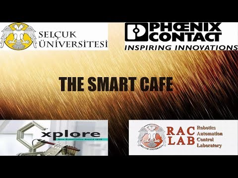 Industry 4.0 example#xplore2018#Phoenix Contact#A Cafe Project#Smart Cafe