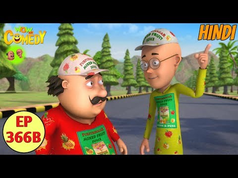 Motu Patlu 2019  Cartoon in Hindi  Motu Ki Marathon  3D Animated Cartoon for Kids