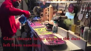 Repainting A Snowboard Diy