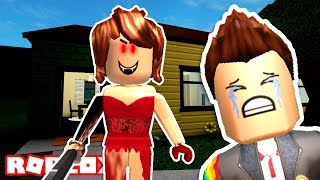 THE GIRL IN THE RED DRESS HAUNTS ME ROBLOX