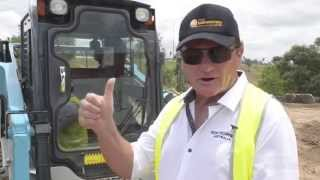 Toyota Huski 5SDK10 skid steer review