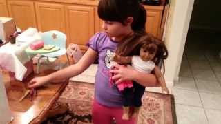 Serena Demos American Girl Doll Furniture Part 1
