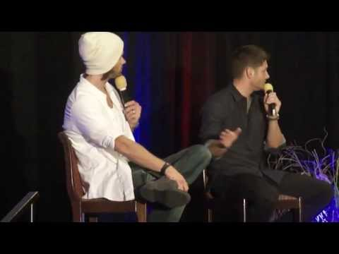 Supernatural Dallas Con 2013 with Jensen and Jared Full Length!