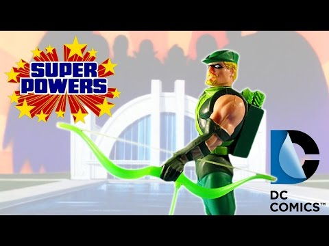 KENNER SUPER POWERS COLLECTION - GREEN ARROW ACTION FIGURE REVIEW (ita)