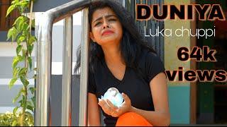 Duniyaa | Luka chuppi | Heart Touching Love Story | New Hindi Video Song 2019 | MONOJIT CREatION