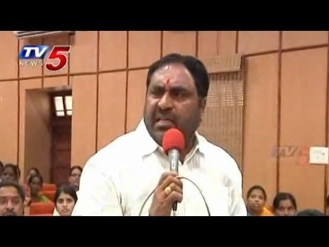 Warangal ZP Meet | Errabelli Dayakar Rao Blasts On Kadiyam Srihari : TV5 News