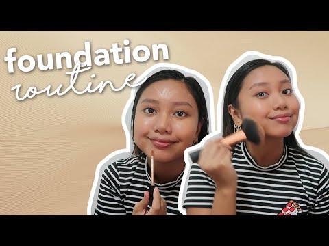 EASY DRUGSTORE FOUNDATION ROUTINE FOR MORENA / TAN SKIN (Philippines) | Ayn Bernos