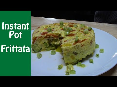 INSTANT POT FRITTATA | #InstantPotWeeknightWarriors