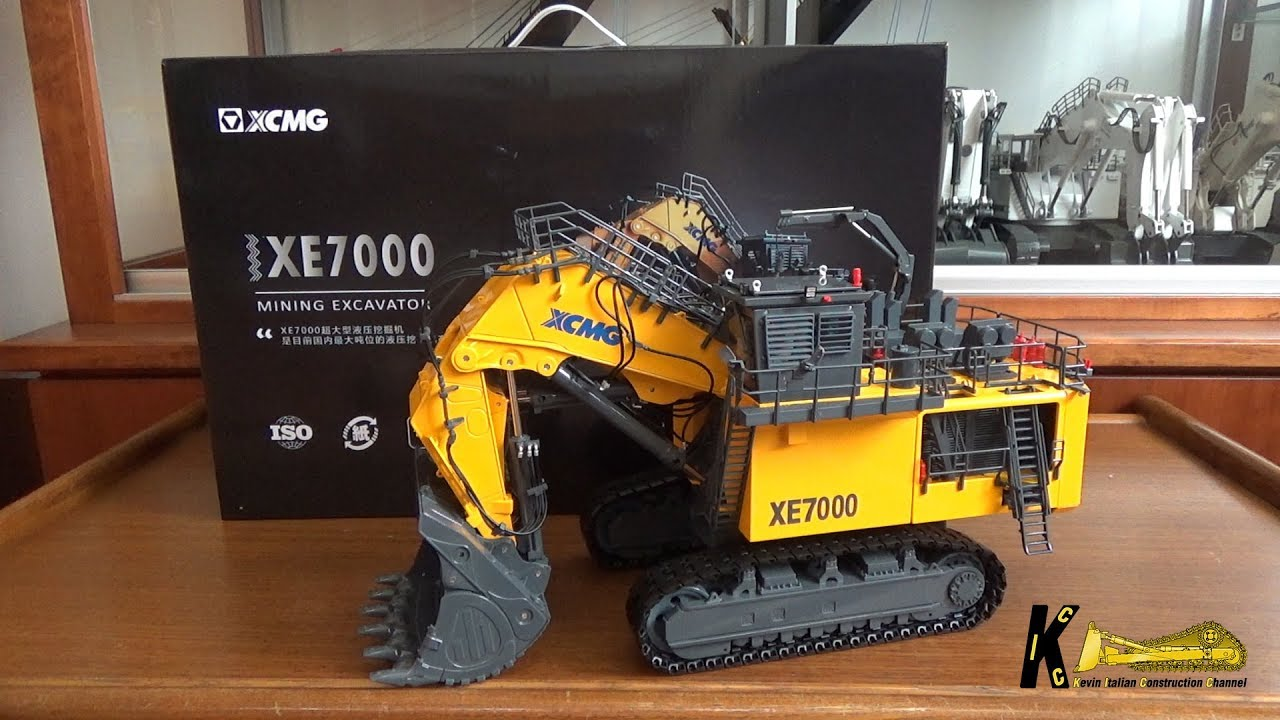 XCMG XE 7000 Excavator Front Shovel 1:50 Model Review by Yagao Models