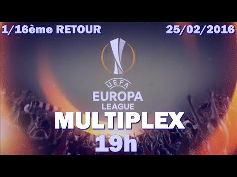 Multiplex Europa League 1/16ème de finale retour FIFA 16 [25/02/16]