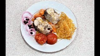 Рыба в духовке с овощами. Как приготовить рыбу
