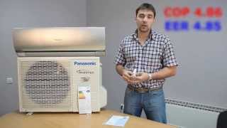 Видео обзор кондиционера ТМ Panasonic серии CS-HE9NKD, отзывы и характеристики.