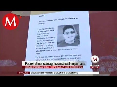 SEP promete sanciones por abuso a 9 niñas de primaria de Huehuetoca