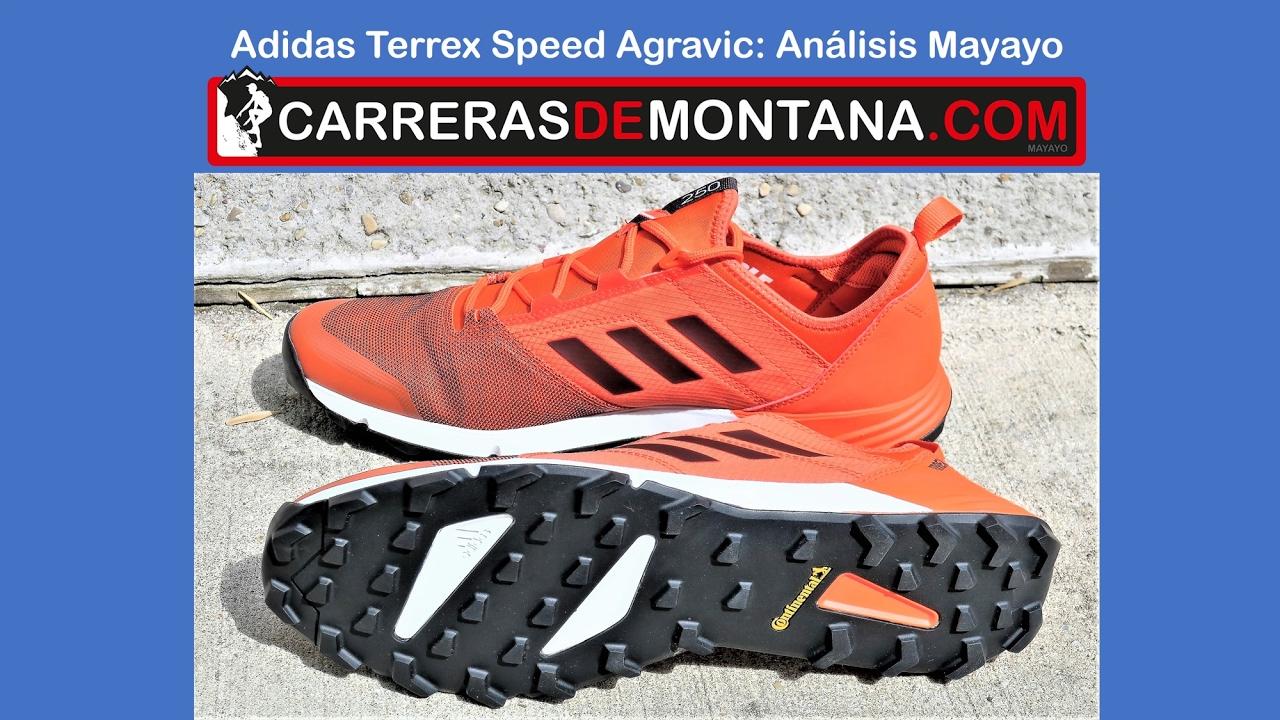 Adidas Terrex Speed Agravic: Zapatillas trail running. Análisis Mayayo @moxigeno