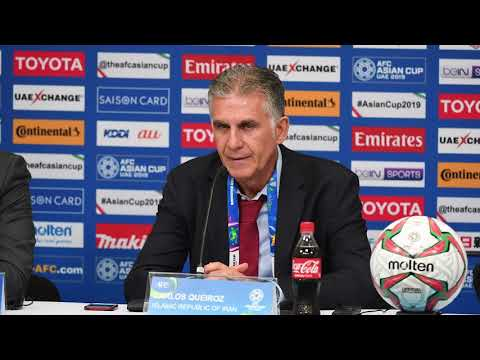 Iran v Yemen post-match press conference