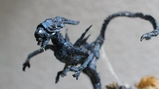 Xenomorph Alien Queen sculpture timelapse + HQ pics