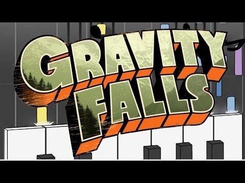 Gravity Falls – Theme – Piano Tutorial (Synthesia MIDI Cover)