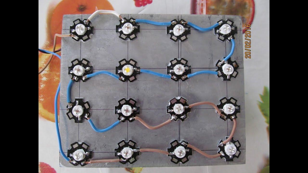 Светодиодные лампы для рассады своими руками