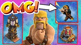 Clash Of Clans - NEW UPDATE IS INSANE!! - NEW LEVEL TROOPS DEFENSES AND MUCH MORE!