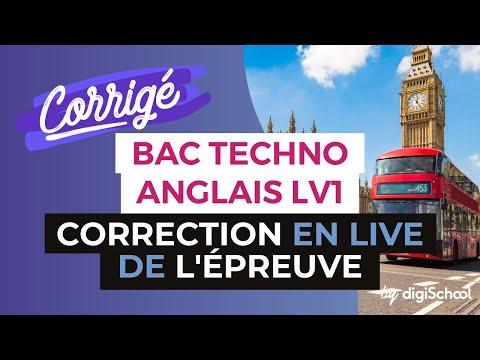 BAC 2017 - Correction en LIVE de l'épreuve d'ANGLAIS LV1 (Séries Techno)