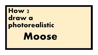 How to draw a photo-realistic MOOSE