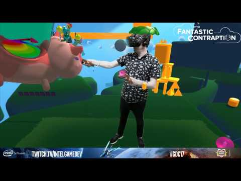Mixed Reality Demo - Intel Skybridge at GDC 2017 w/ Corey Warning