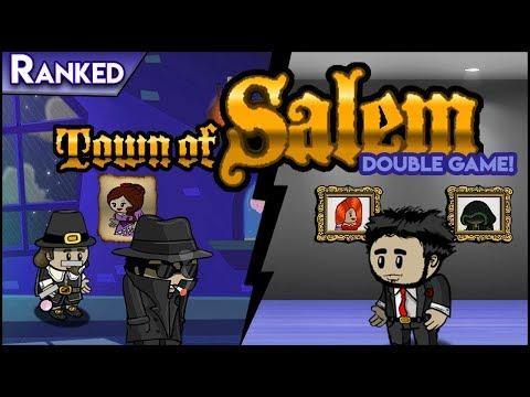Town of Salem (Double Game!) | 15 MINUTES OF FRAME! (Ranked)