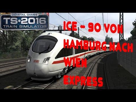 TRAIN SIMULATOR 2016 ☆ ICE-T 91 nach Wien Hbf über Hannover | trainTeacher