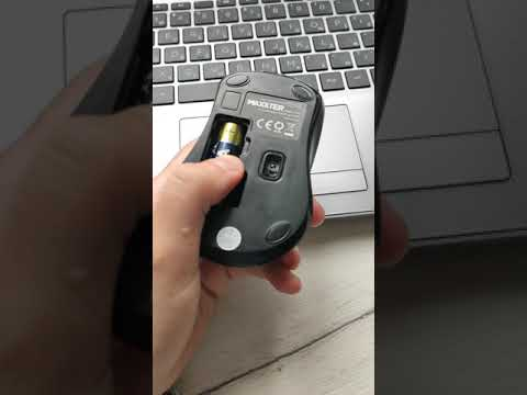 Мышь Maxxter Mr-337-Gr Wireless Gray