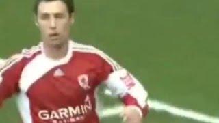 Middlesbrough v Newcastle Utd 2009-10 ROBSON CARROLL MACDONALD GOAL