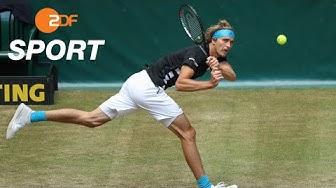 ATP-Halle: Zverev verliert Krimi gegen Goffin   ZDFsport