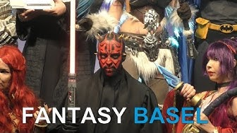 Fantasy Basel 2019-The Swiss Comic Con: Cosplay, Games, Comics & Filme in rauhen Massen