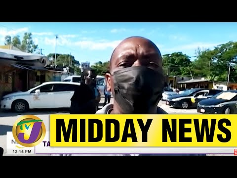 Jamaica's Taxi Operators in St. Elizabeth Claim Police Harassment | TVJ Midday News - June 1 2021