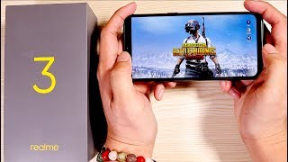 Realme 3 Unboxing and Hands On - Pubg, Camera, Battery