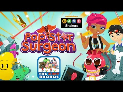 Game Shakers: Pop Star Surgeon - Performing Surgery On Pop Stars (Gameplay, Playthrough)