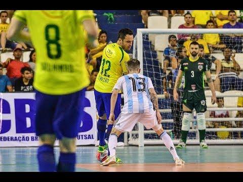 #DesafioInternacional - Goles Brasil 8  vs Argentina 2 - Manaos