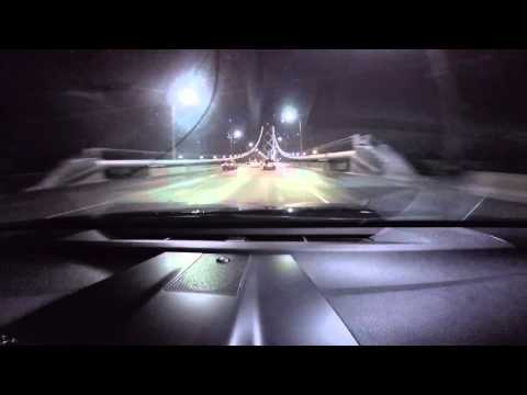 Going in to Yerba Buena Island Tunnel, captured with Gopro Hero4 silver.